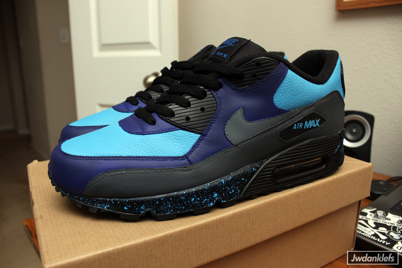 finest selection 25490 387ad ... nike-air-max-90-stash-custom-by-dank- ...