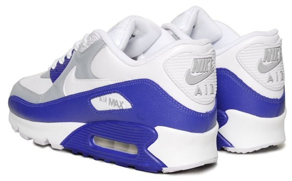 Nike Air Max 90 White Drenched Blue