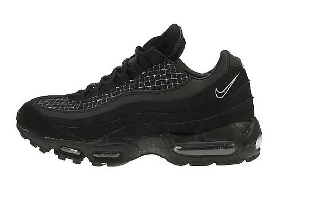 Nike Air Max 95 'Grid' - Black/White - JD Sports Exclusive