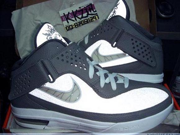 Nike Air Max Soldier V (5) Cool Grey Light Charcoal-White