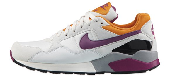 Nike Air Pegasus 92 White Purple-Orange
