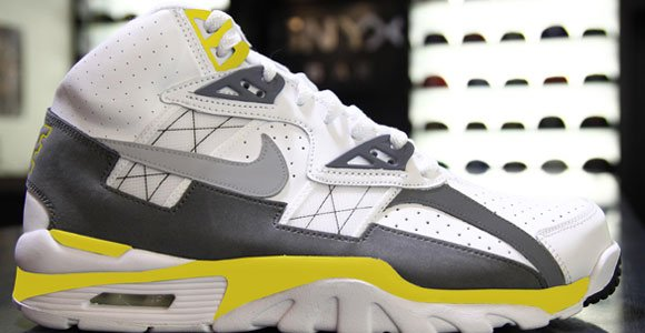 Nike Air Trainer SC High White Grey Lightning