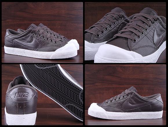 Nike All Court Low Velvet Brown White