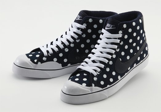 Nike All Court Mid x Uniform Experiment Polka Dot