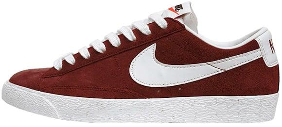 san francisco 9bcf1 c9dc8 Nike Blazer Low Vintage Red White