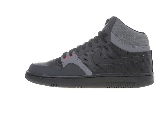 Nike Court Force High Black Anthracite Cloud Grey June 2011