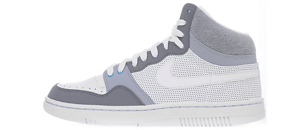 Nike Court Force High White Cloud Grey June 2011