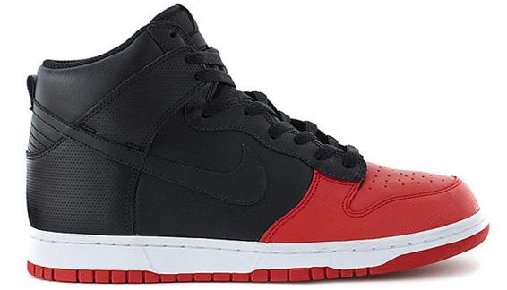 Nike Dunk High 08 Black Sport Red