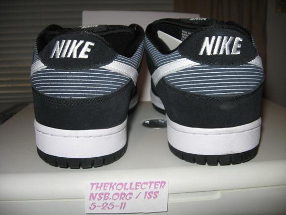 Nike Dunk SB Low Navy Pinstripe Sample