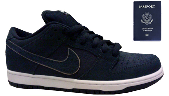 Nike Dunk SB Low Pro U.S. Passport
