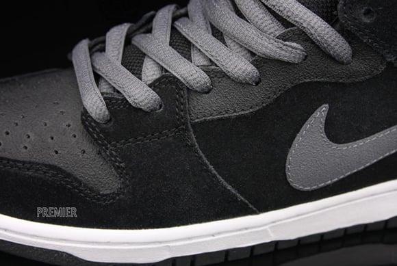 Nike Dunk SB Mid Pro Griptape Black Light Graphite
