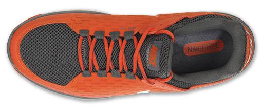 Nike Free Zilla Team Orange White Dark Grey