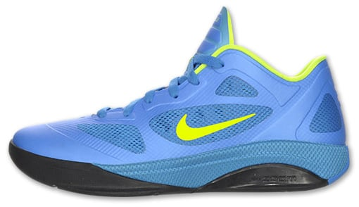 Nike Hyperfuse 2011 Low Photo Blue Volt-Black