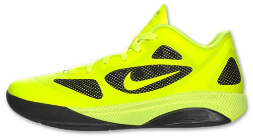 Nike Hyperfuse Low 2011 Lime Silver Black