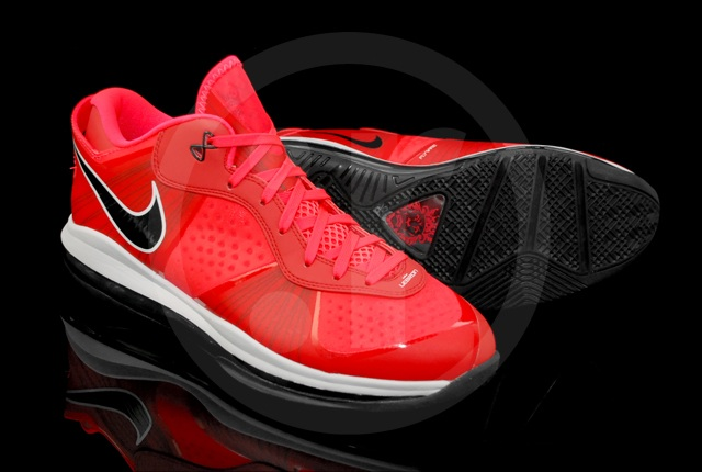 lebron 8 low red - photo #38