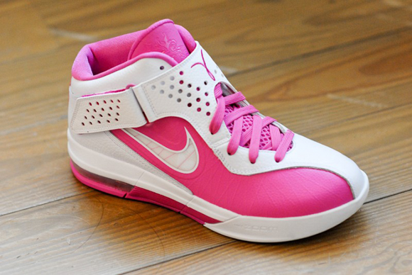 Nike LeBron Air Max Soldier V (5) Think Pink