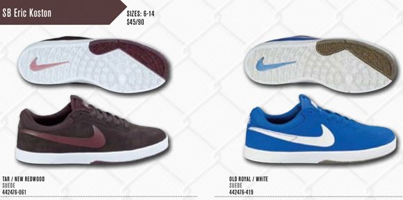 Nike SB Eric Koston 1 Redwood + Old Royal Spring 2012