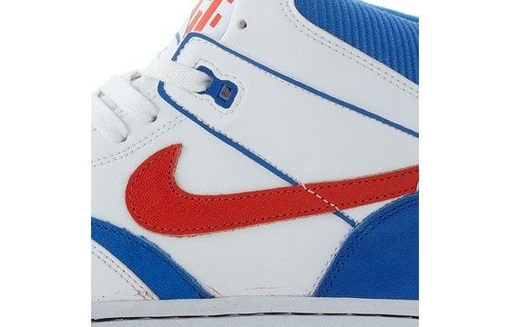 Nike Sky Force 88 Mid Knicks White Orange-Blue