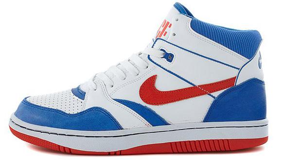 Nike Sky Force 88 Mid Knicks - White
