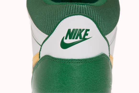 Nike Sky Force 88 Mid White Yellow-Pine Green