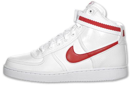 Nike Vandal High - White/Red   SneakerFiles