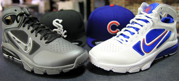 Nike Zoom Huarache 2 Chicago White Sox Cubs Pack