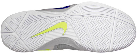 Nike Zoom Hyperfuse 2011 White Metallic Luster-Wolf Grey-Volt Team Red