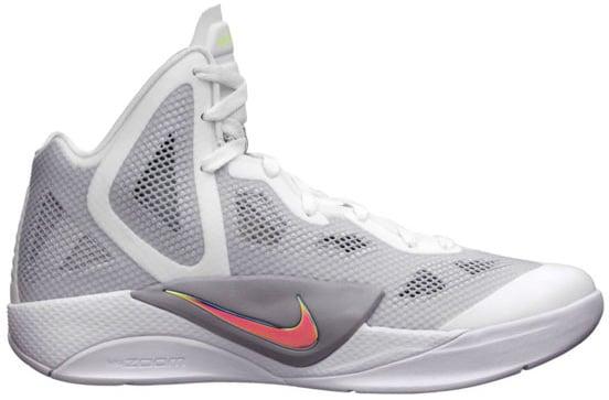 ba15af083a88 Nike Zoom Hyperfuse 2011 White Metallic Luster-Wolf Grey-Volt Team ...
