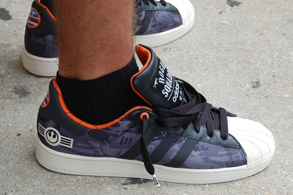 Star Wars x Adidas Superstar II Rogue Squadron Rebel Alliance