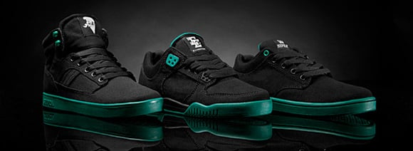Supra Black and Green Pack