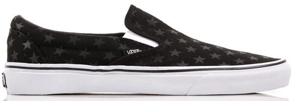 Vans Era + Slip-On Stars Stripes Black