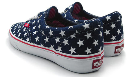 Vans Era Stars Stripes Patriot Blue True White