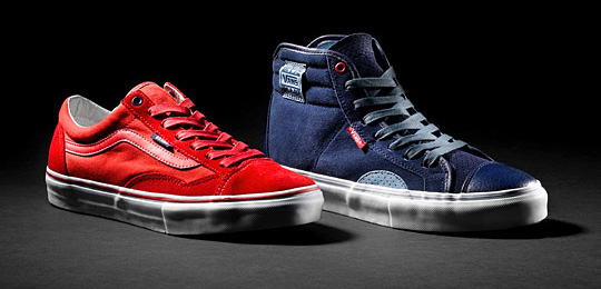 Vans Syndicate Sk8-Hi + Old Skool x Rodney Smith
