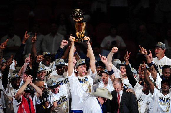 What the Dallas Mavericks Wore Sneakers to Win the 2011 NBA Championship