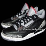 Air-Jordan-III-(3)-Retro-Black-Cement-New-Detailed-Images-2