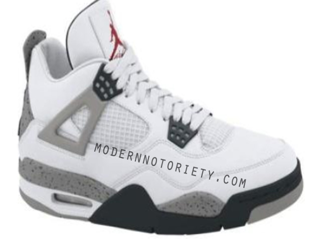 Air-Jordan-IV-(4)-Retro-White -Cement
