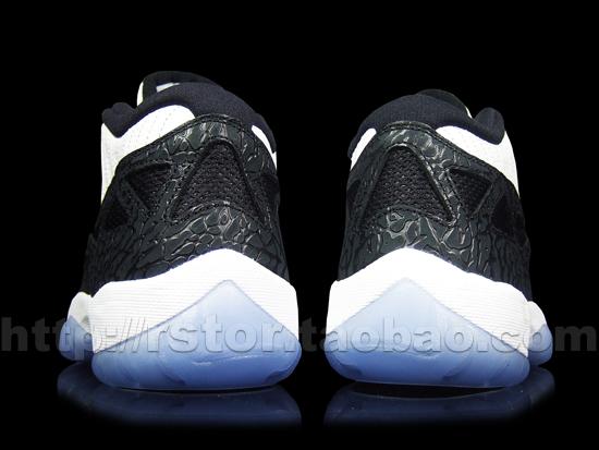 Air-Jordan-XI-(11)-Retro-Low-IE-White-Black--Metallic-Silver-Detailed-Images-4