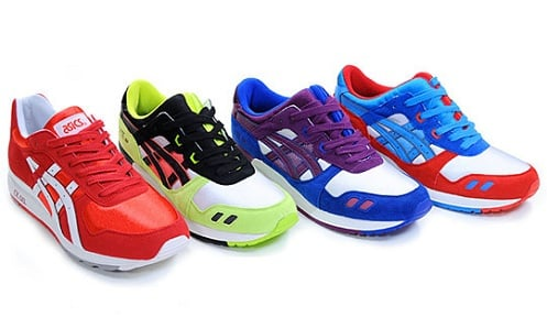Asics Gel Lyte III & GT II - Fall/Winter 2011