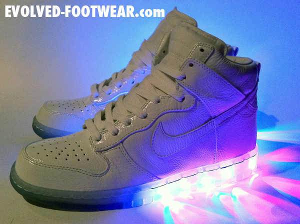 Evolved-Footwear-White-'Technicolor'-Nike-Dunk-High-Custom-2