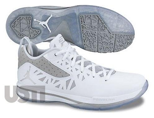 Jordan CP3.V - White/Metallic Silver