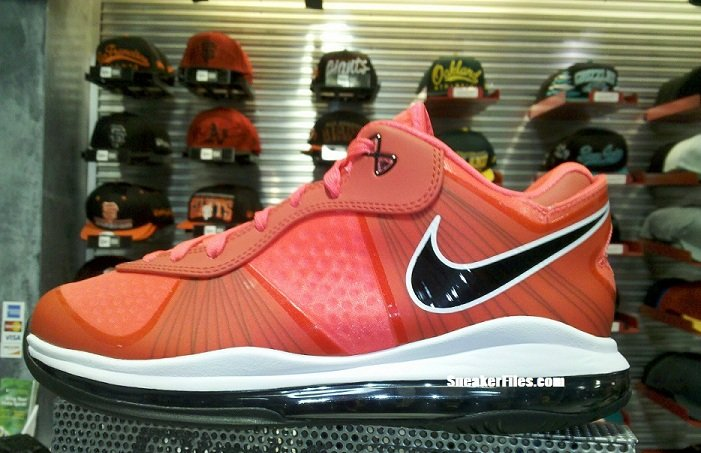c27a6e43f97 LeBron 8 V2 Low  Solar Red     Blackout  Hitting Retail Now ...