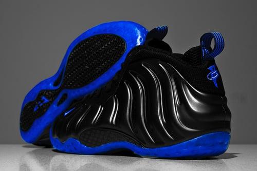 Nike Air Foamposite One Black/ Royal
