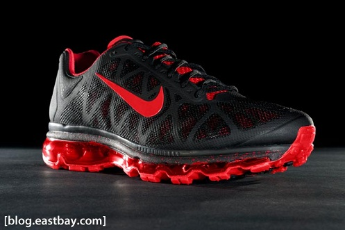 Nike Air Max 2011+ - Black Sport Red  9ee69e353