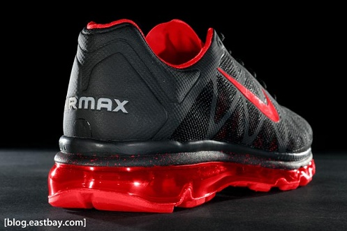 Nike Air Max 2011+ - Black/Sport Red