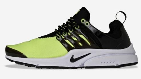 Nike Air Presto - Black/White/Volt