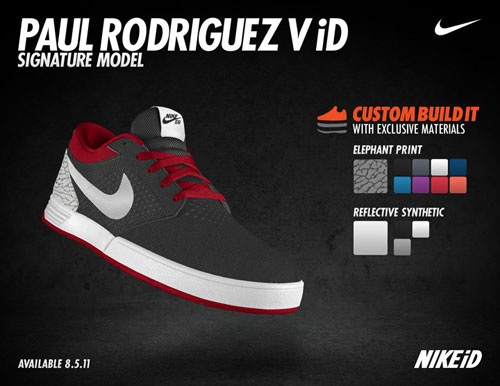 Nike SB P-Rod V Hits NikeiD Early August