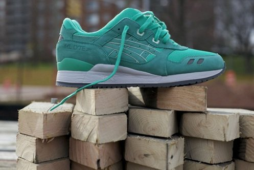 "Ronnie Fieg x Asics Gel Lyte III ""Mint Leaf"" - More Images"