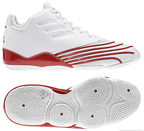 adidas Return of the Mac Running White Red-Silver