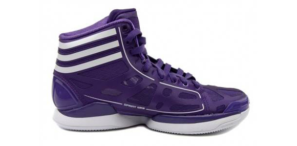adidas Womens adiZero Crazy Light Purple White