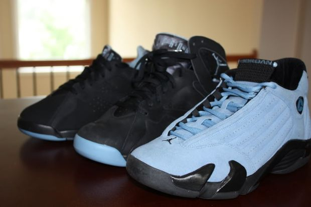 Air Jordan 7 14 Chambray Pack Sample